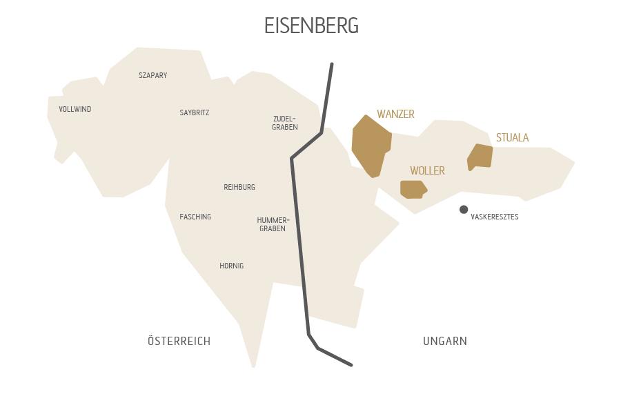 Eisenberg Landkarte